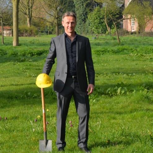 Michiel op locatie Klaverkamp Foto Michiel van Wezel 4